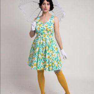Retro Lemon 🍋 dress